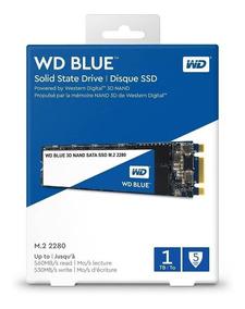 Hd Ssd M2 2280 Sata 3 Wd Blue 1tb Sata