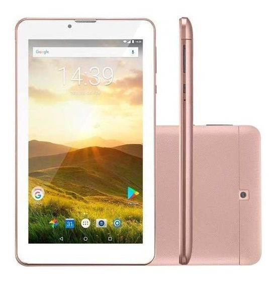 Tablet Multilaser M7 Plus Quad Core 1gb Ram Câmera Wi-fi