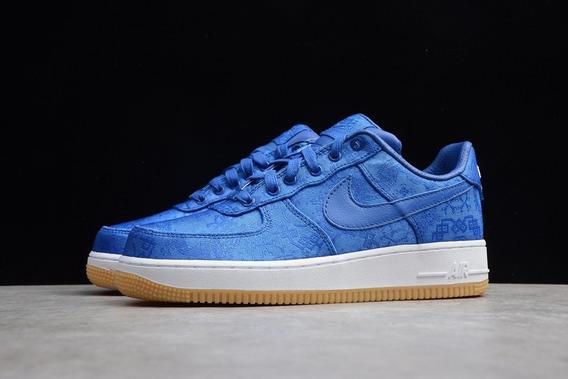 Air Force 1 Premium Azul