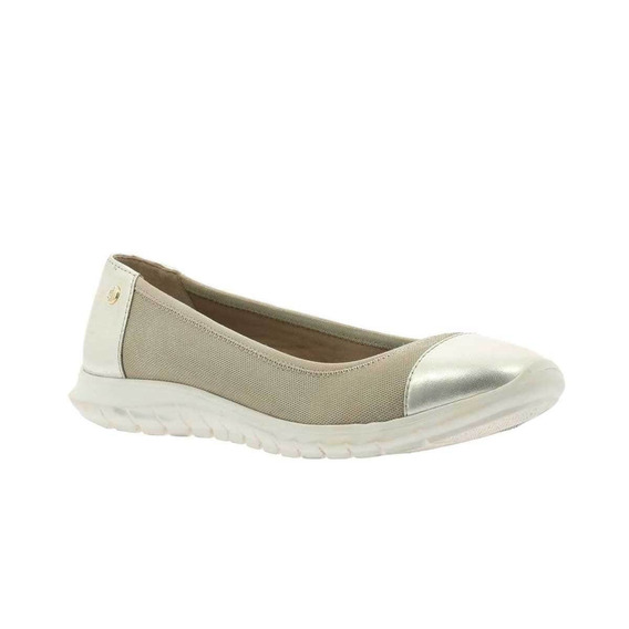 Balerina Plateada Hush Puppies