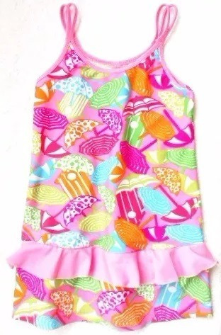 Saida De Praia / Vestido Menina Infantil 8 Anos