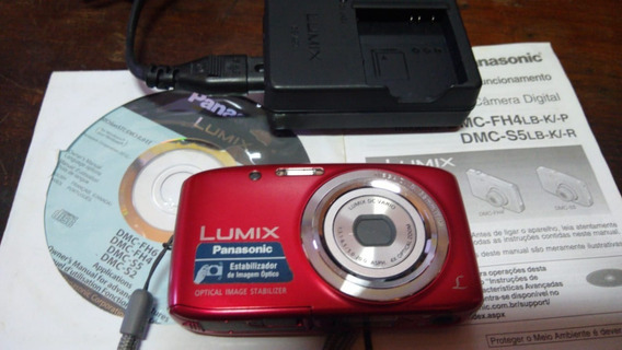 Lumix Panasonic S5 Camera Digital Semi-nova