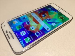 Samsung Galaxy S5 Usado Branco Perola