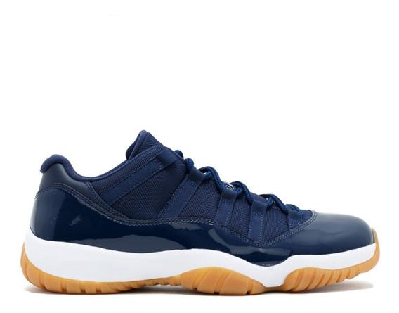 Air Jordan Retro 11 Xi Low Navy Gum Nike Jumpman