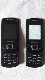 Lote Celular Samsung Gt-e2550l 2550 Não Liga - Leia