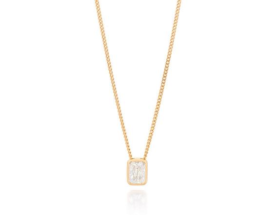 Gargantilha Fio Grumet Diamantada Pingente Rommanel 531925