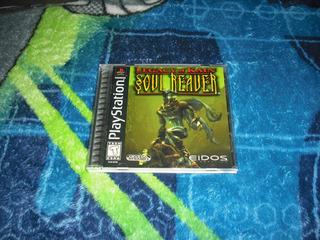 Legacy Of Kain Soul Reaver 1era Edicion Buen Estado Ps1