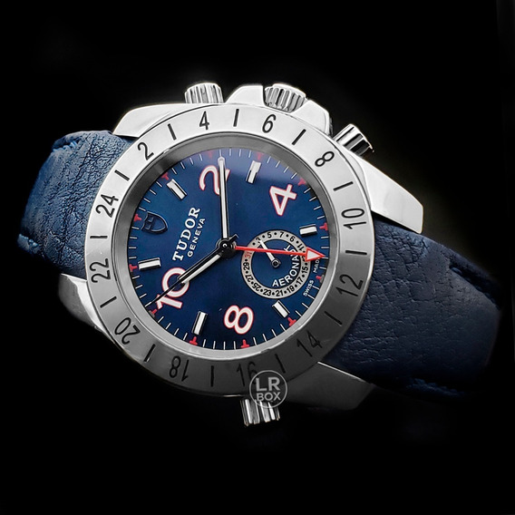 Tudor Sport Aeronaut Gmt Blue Dial 41mm 2016