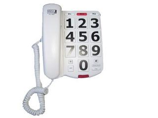 El Futuro De Llamadas Fc-1507 Botón Grande Teléfono Con 40db