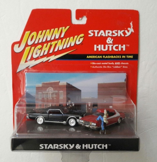Satarsky & Hutch Diorama Torino Johnny Lightning Solo Envios
