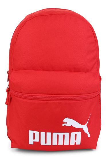Mochila Puma Phase Red Unissex - 075487