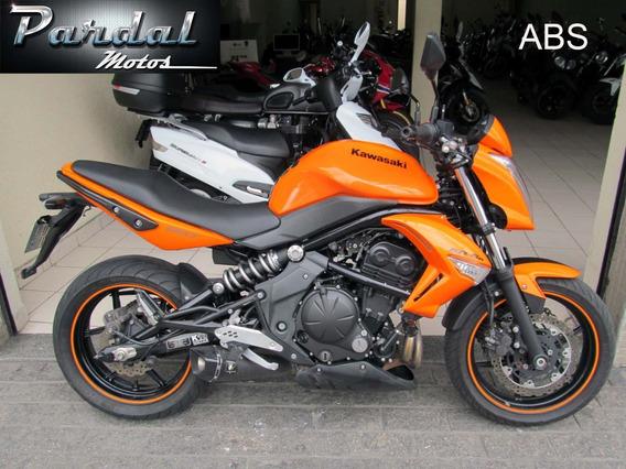 Kawasaki Er 6n 2011 Abs Laranja