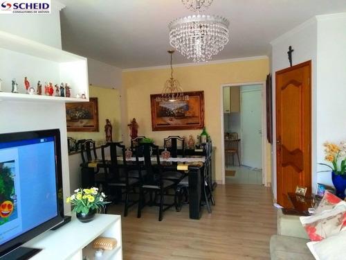 Imagem 1 de 15 de Apartamento Com Três Dormitórios Na Vila Mascote - Mc5201