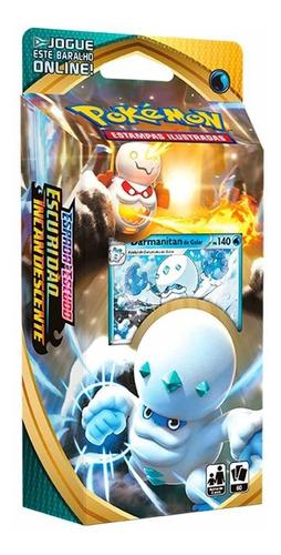 Pokemon Card Deck Escuridão Incandescente Darmanitan Galar