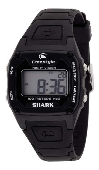 Relógio Fs80969 Digital Shark Classic Black Freestyle