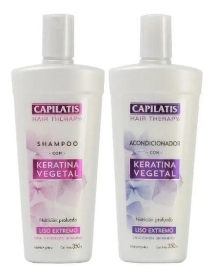 Capilatis Shampoo + Acodicionador Keratina Hair Therapy