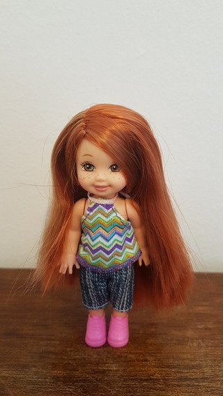 Linda Boneca Kelly Barbie Ruiva