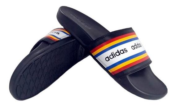 Ojotas adidas Adilette Comfort Negro Hombre Ef0854 Empo2000