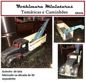 Caminhão Guincho Wyandotte Lata Raro