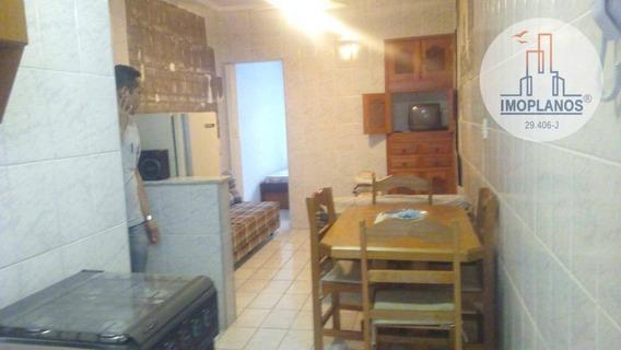 Kitnet Com 1 Dormitório À Venda, 38 M² Por R$ 120.000,00 - Boqueirão - Praia Grande/sp - Kn0709