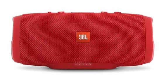 Caixa de som JBL Charge 3 portátil Red