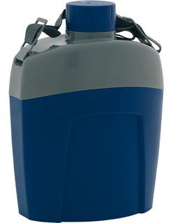 Cantil Térmico Aladdin 1 Litro Camping Azul Vermelho Oferta