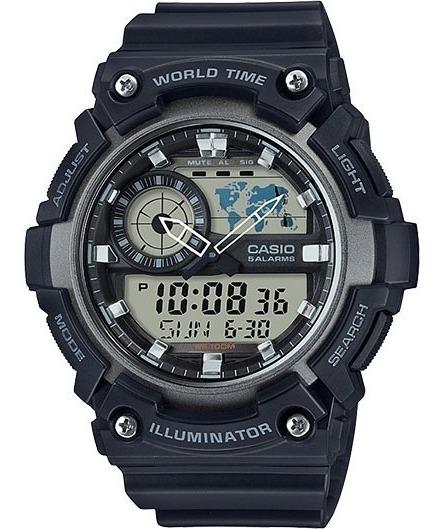 Relógio Casio Super Illuminator Aeq-200w-1avcf