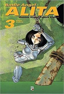 Battle Angel Alita - Vol. 3 (português) Capa Comum