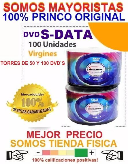 Dvd Virgen S-data 4.7 Gb Sp 120 Min.1x-16x Paquetes De 50