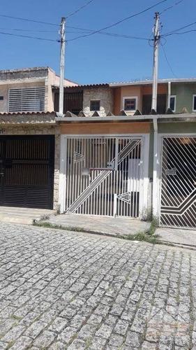 Sobrado 3 Dormitórios (1 Suíte), Em Condomínio À Venda, Santa Terezinha, São Bernardo Do Campo. - So0260