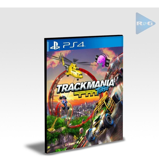Trackmania Turbo Ps4 - Envio Agora