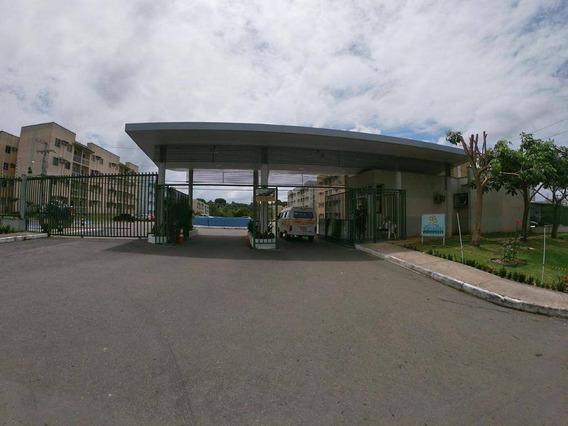 Apartamento Com 3 Dormitórios À Venda, 52 M² Por R$ 160.000 - Tarumã - Manaus/am - Ap0461