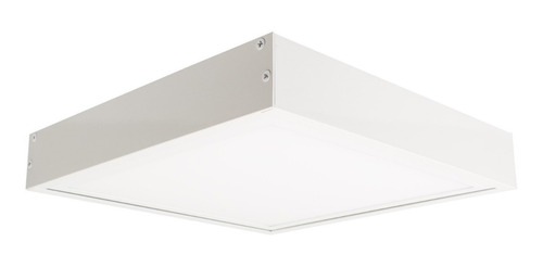 Marco De Aluminio Para Panel Led60x60 Blanco/aluminio Unilux