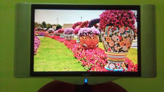 Televisor Síragon Lcd 19 Pantalla Cristal Liquido Imagen Hd