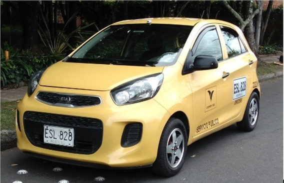 Kia Picanto Taxi 2018 Bogotá