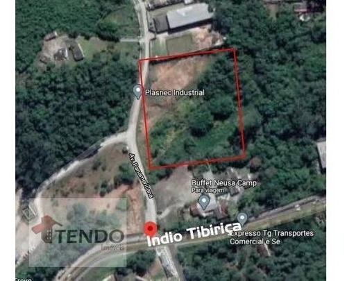 Terreno 10500 M² - Venda - Itrapoá - Ribeirão Pires/sp  / Imob03 - Te0178