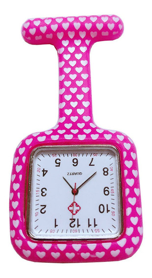 Borracha Quadrado Clipe Enfermeira Relógios Multicolor Médic