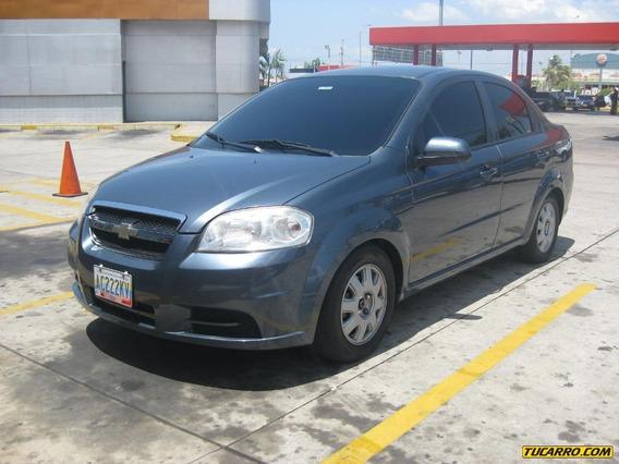 Chevrolet Aveo Lt Sinc