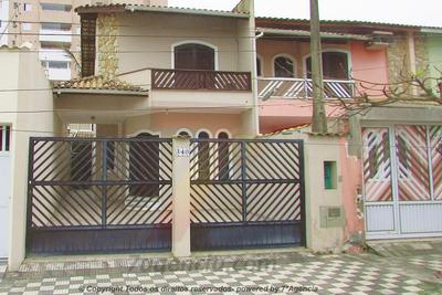 Ch63 Sobrado Frente Pro Mar 3 Dorms Centro De Itanhaem