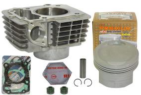 Kit Cilindro Cg 150 P/ 170cc 4mm Kit Premium Kmp + Rik