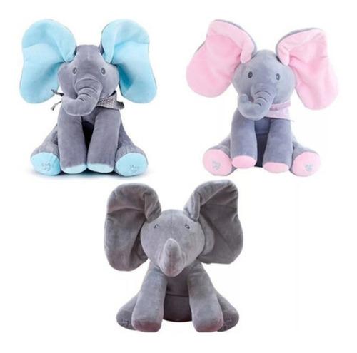 Imagem 1 de 10 de Elefante Musical Brinca Canta Fala Gun Flappy Importado Eua
