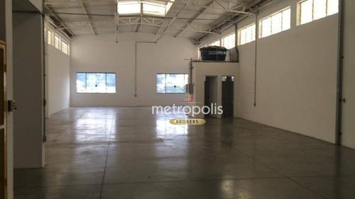 Imagem 1 de 12 de Galpão Para Alugar, 700 M² Por R$ 12.000,00/mês - Vila Ema - São Paulo/sp - Ga0398