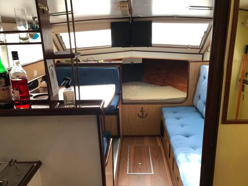 Crucero Flamingo 850 Con Perkins 6 Cilindros Diesel Pata Vol