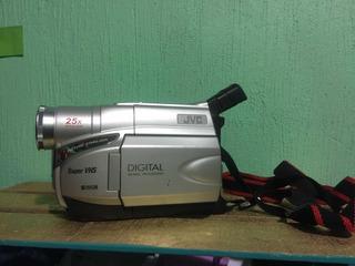 Video Cámara Jvc Digital Súper 25 X Con Cargador Y Bolsa