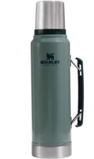 Termo Stanley Clasico C/tap Cebador 1 Litro Verde