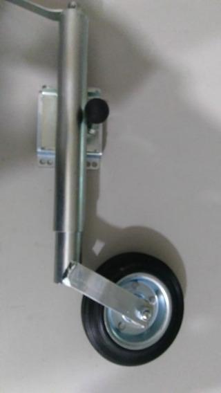 Pedestal Carreta Roda Carretinha Reboque Articulado 150kg