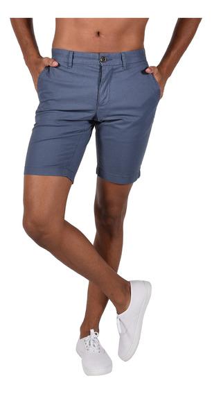 Shorts Stretch Fit Tommy Hilfiger Azul Mw0mw03731-462 Hombre