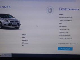 Oportunidad Vendo Plan De Ahorro Ford Focus 33 Cuotas Pagas.