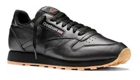 Tenis Reebok Classic Leather Negros Originales