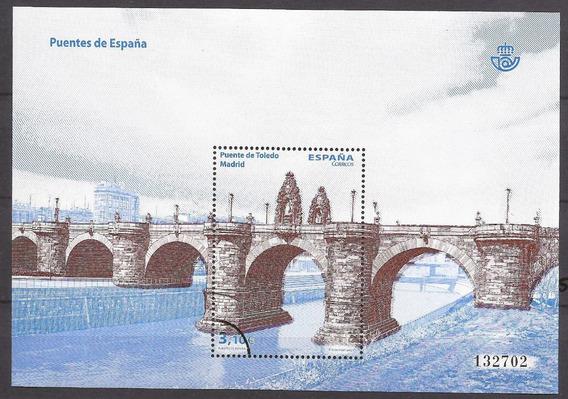 España 2013 Bloque Specimen Puentes De España - 129